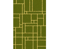 Ковер COMFORT SHAGGY 2 <MERINOS(Россия)> 1,40*2,00  s639 GREEN-YELLOW